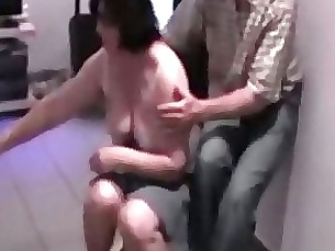 Amateur BBW Mature Orgasm Public Wife