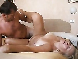 Amateur Blonde Couple Cumshot Fuck Mature