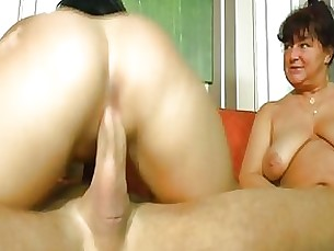 Blowjob Brunette Granny Masturbation Mature Threesome Wild
